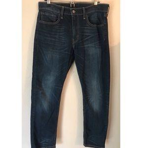 Levi's Men's 32x30 Blue Distressed Denim Jeans